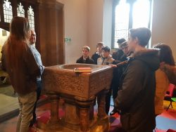 Year 9 RE Trip to St. James's Church, Bushey