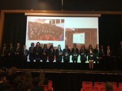 Netball Awards in Assembly