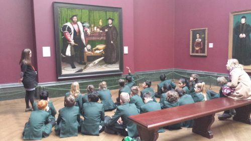 Year 7 trip to the National Gallery