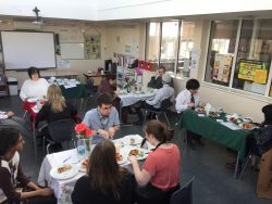Year 12 Food Served at the Spa