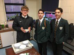 Lads Porridge and Science Breakfast Club