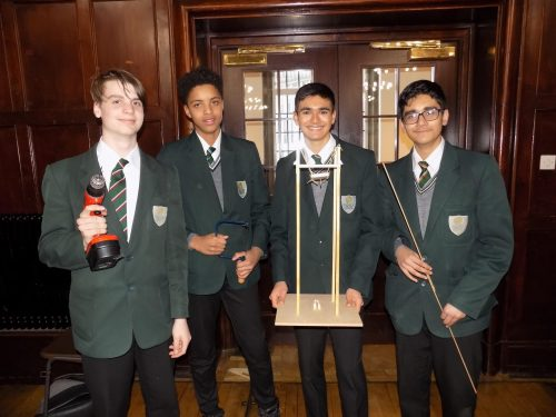 BMS at the Rotary Problem Solving Competition 2018