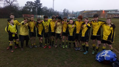 Year 8 Rugby Reports