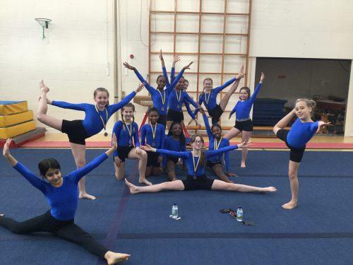 Watford Girls School Gymnastic Competition