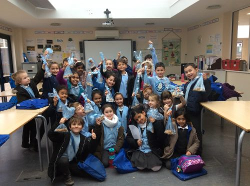 Hartsbourne Primary cookery week in partnership with Bushey Meads