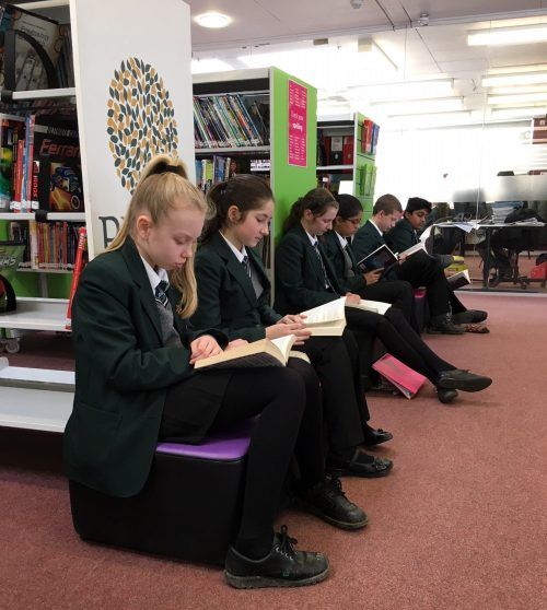 Reading for Pleasure at BMS