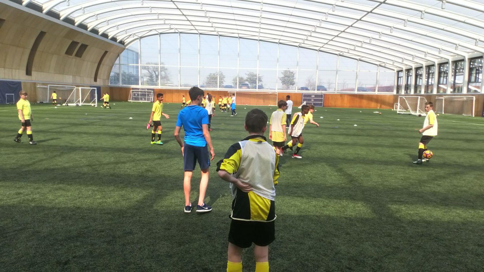 Year 7 and 8 Boys Football team trip to Tottenham Hotspur FC