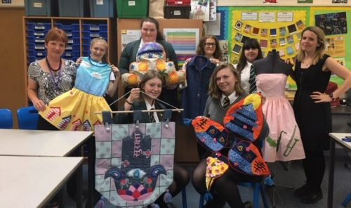 Textiles student's outstanding outcomes!
