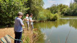 A First for Bushey Meads – Fishing