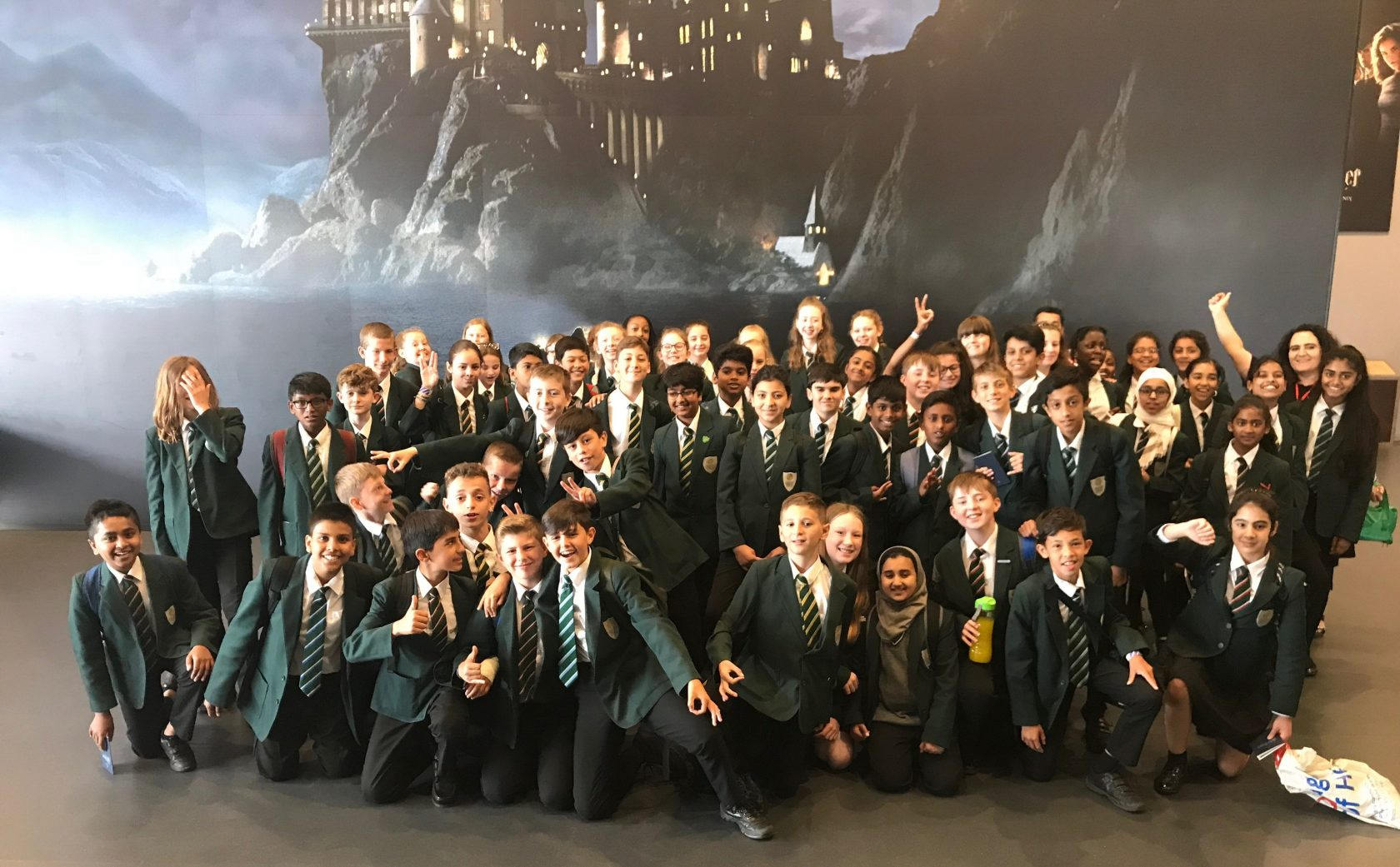 Year 7 Literacy trip to Harry Potter Warner Brothers Studio