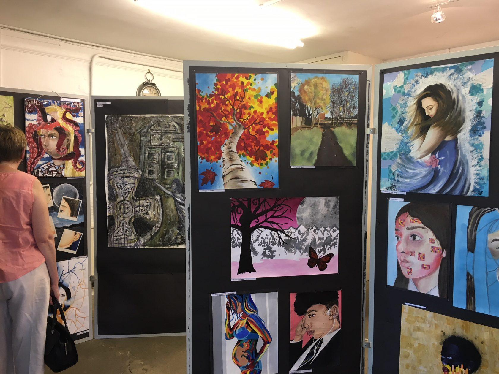 BMS Art Exhibition Launches the Bushey Festival 2018