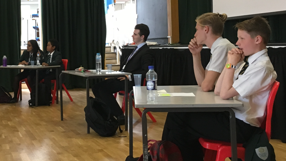 House Debating Competition Final