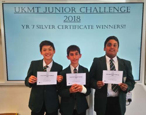 Junior UK Maths Challenge