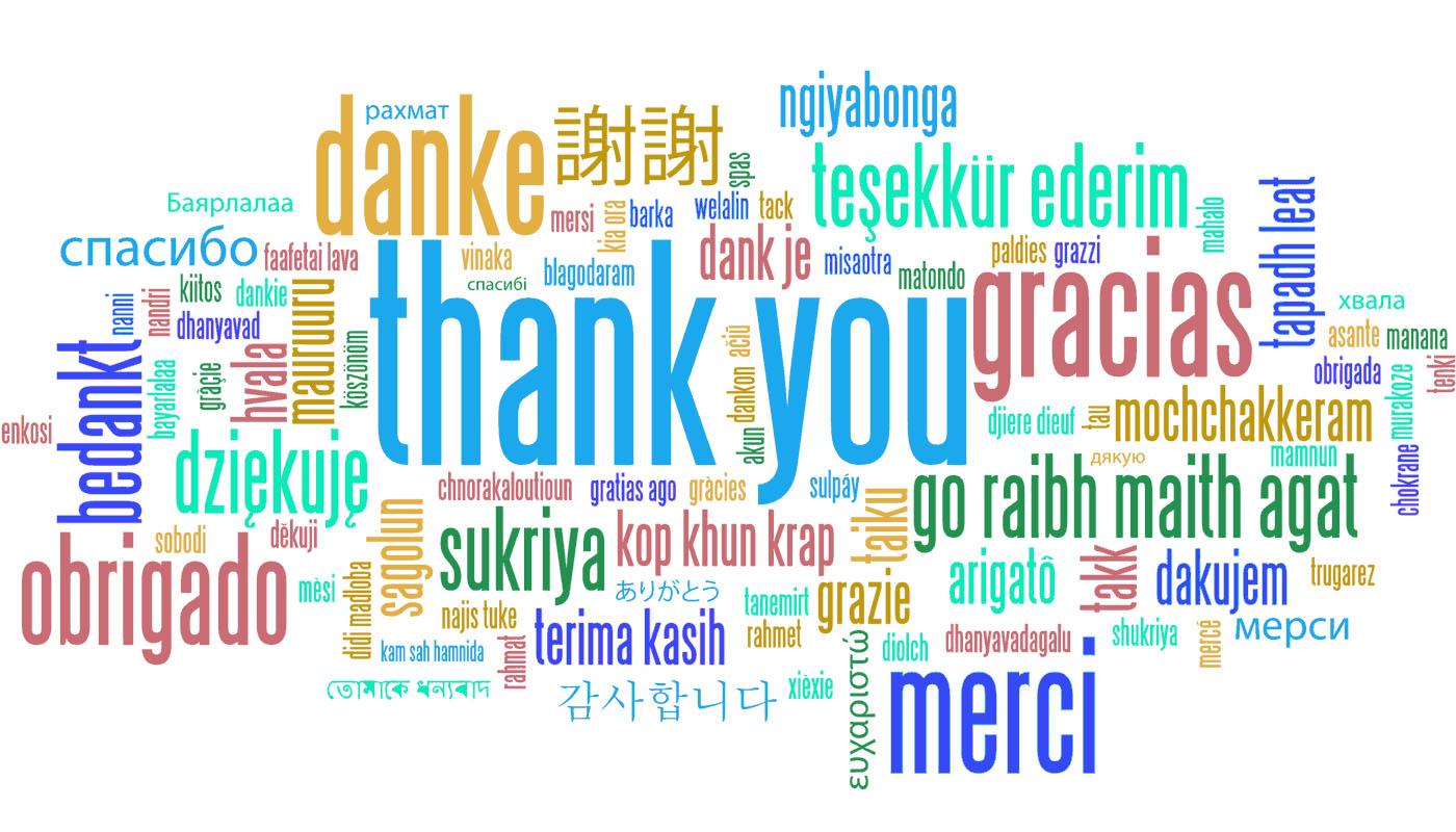 Grateful Thanks!