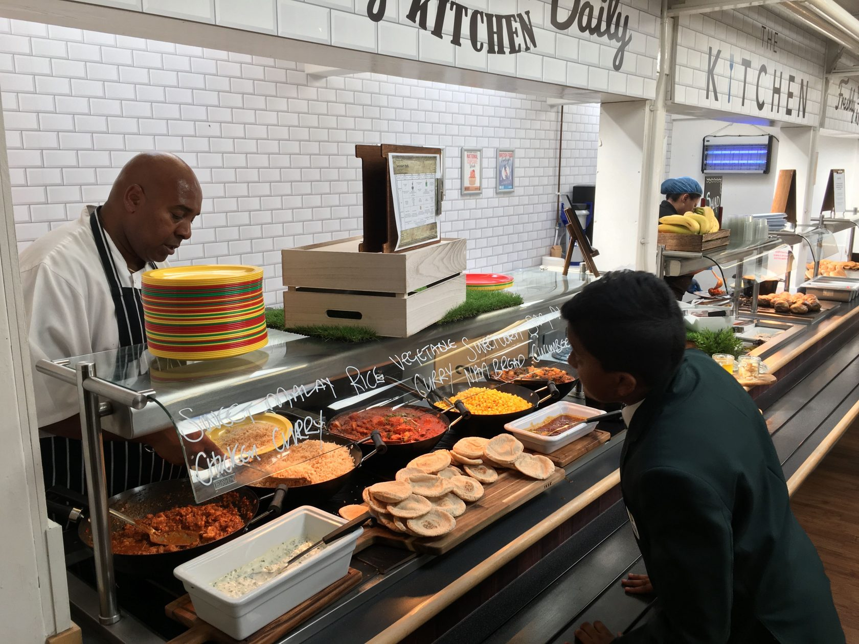 Improvements to our School Restaurant