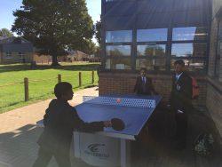 Students having fun in the sun!
