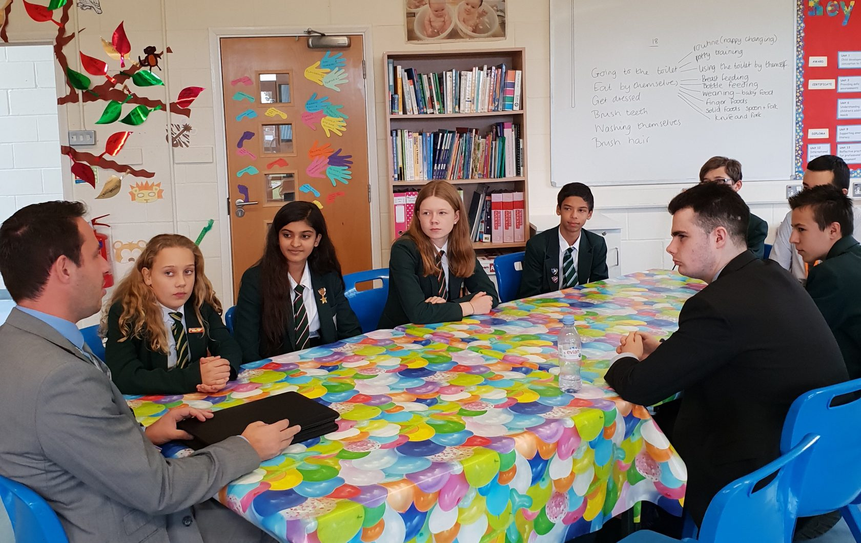 Assistant Headteacher – Rob Tester from West Hatch High School visits our School