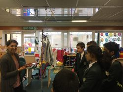 Year 8's Visit Meadow Wood School