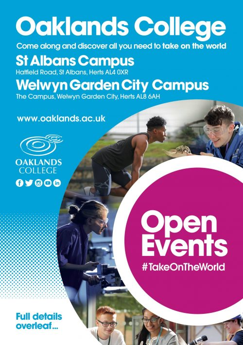 Oaklands College Open Days