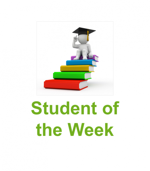 Student of the Week – Issue 67