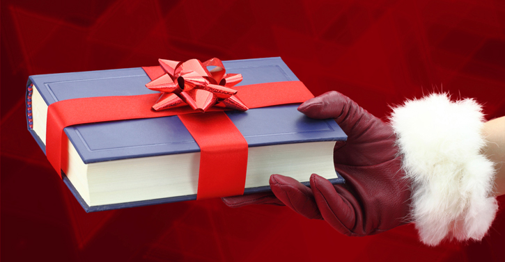 How about buying a book as a gift?