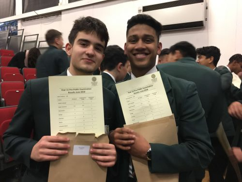 Year 11 PPE Results Assembly