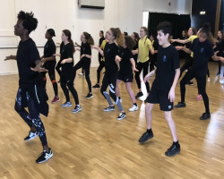 More Able Dance Workshop