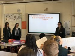 More Able Activity in Year 11 Business Studies lesson