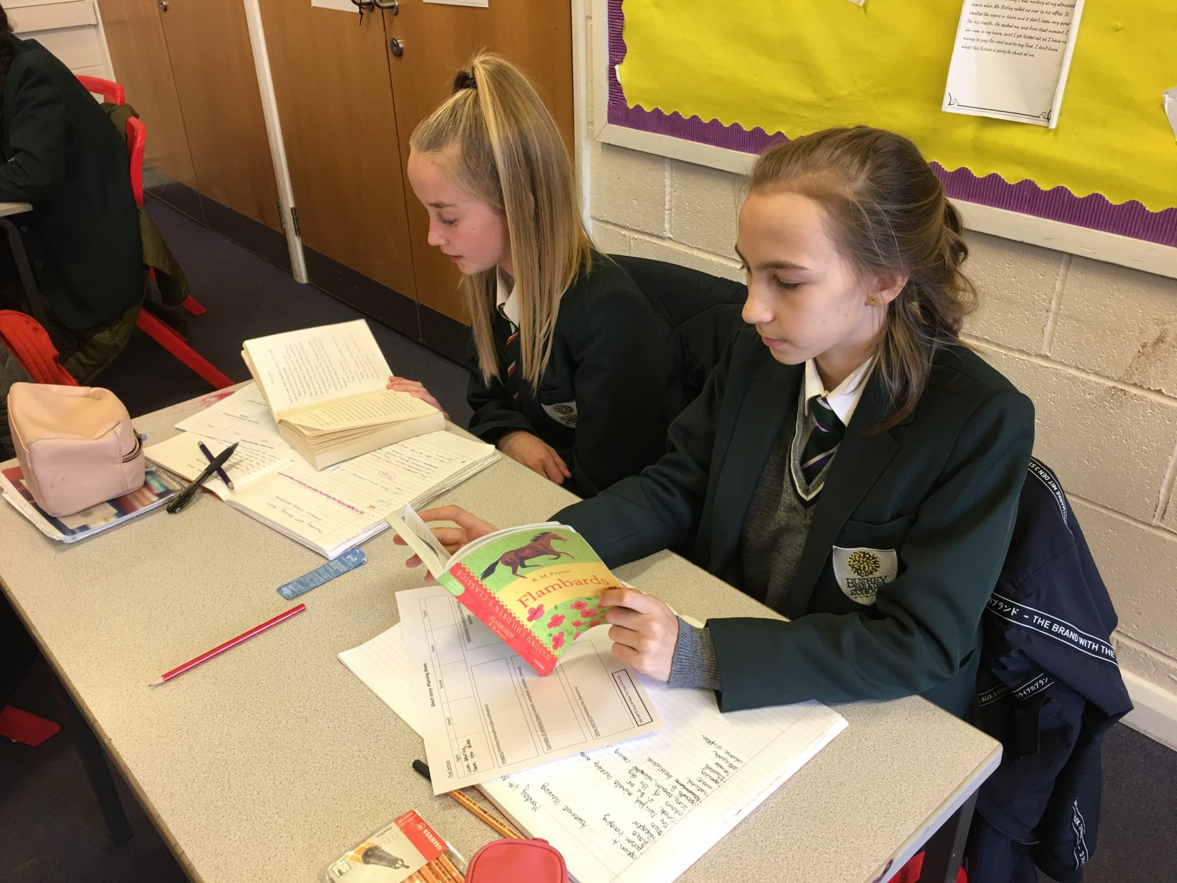 CDC Shared Reading Project at BMS Launched