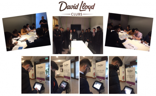 Year 12 Business Studies students visit David Lloyd Bushey