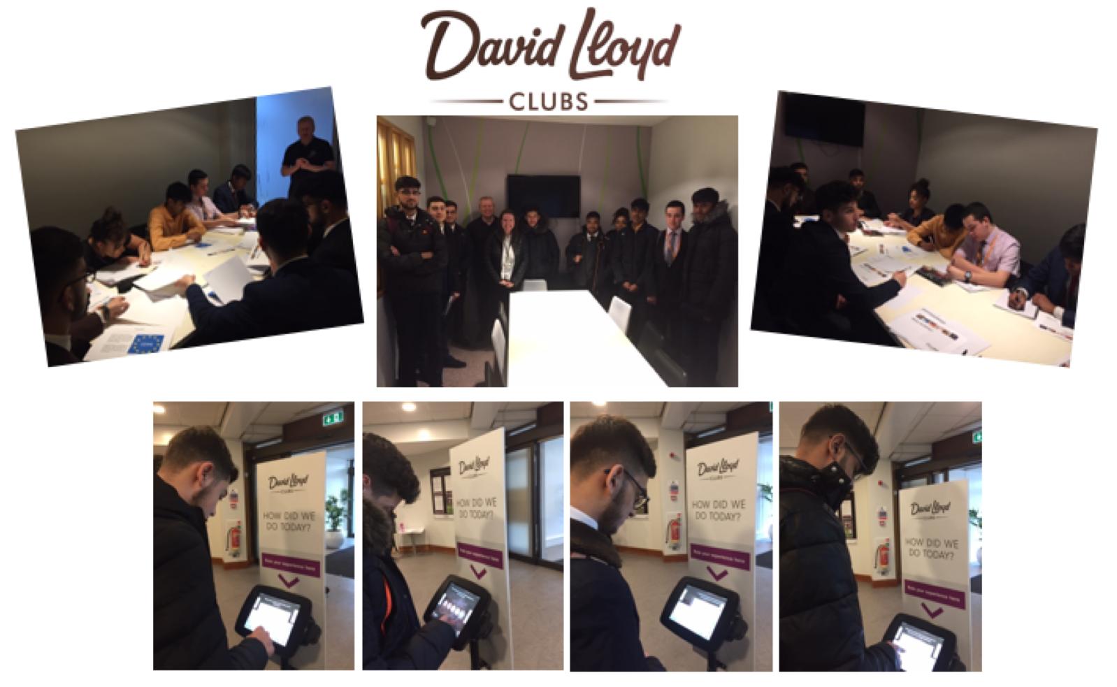 Year 12 Business Studies students visit David Lloyd Bushey