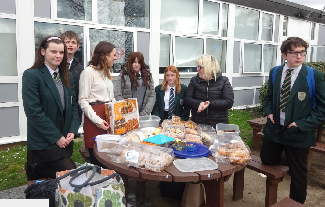 Charity Cake Sale Success!