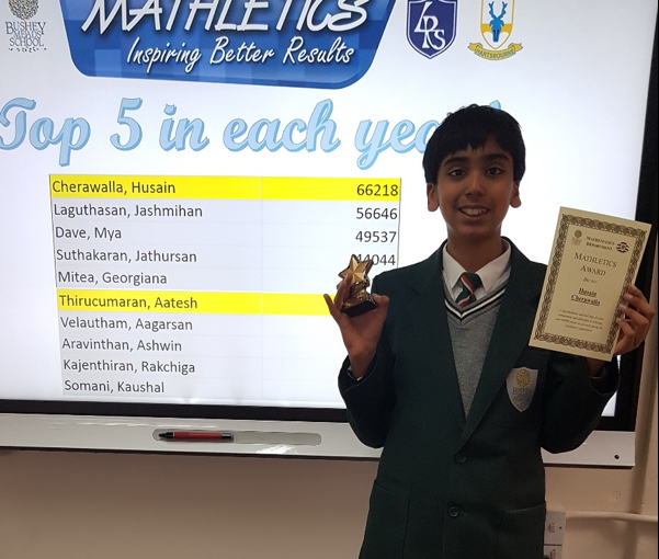 Mathletics Competition