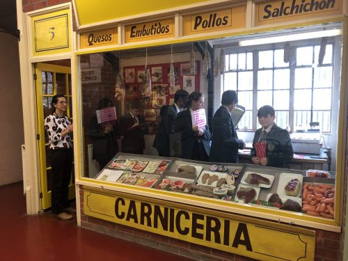 Europa Centre Spanish visit Wednesday 27th March