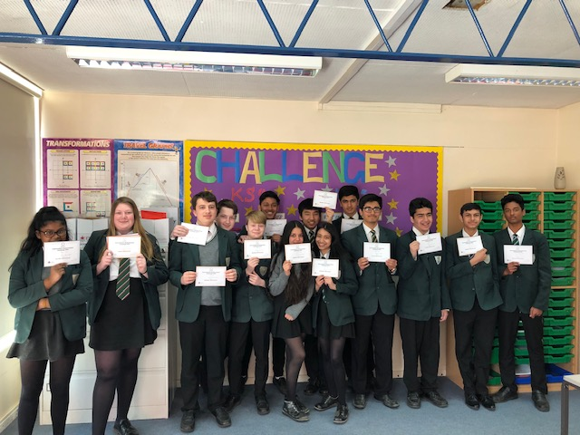 UK Intermediate Maths Challenge