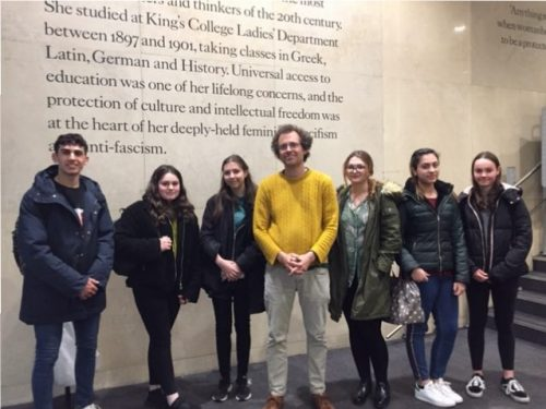 Enrichment Day Sixth Form visit to Department of Spanish, Portuguese and Latin American Studies, King's College London