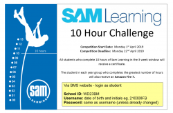 SAM Learning Challenge