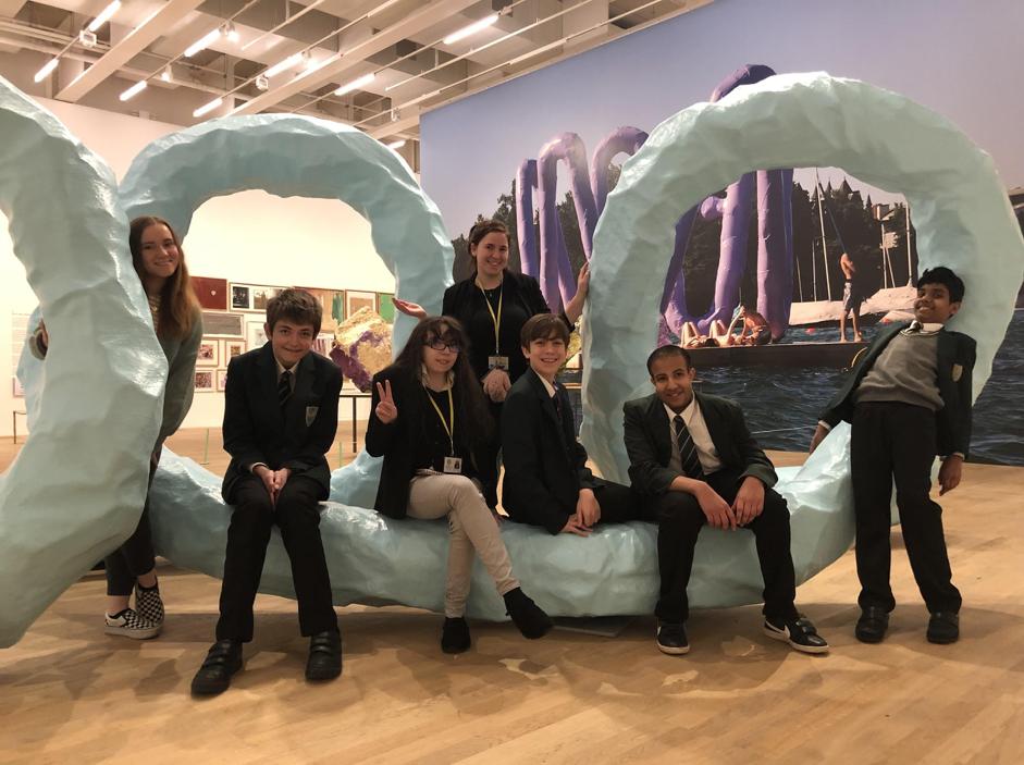 SEND Arts Award trip to the Tate Modern