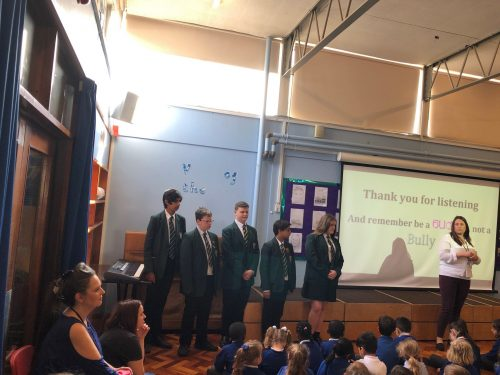 Visit to Little Redding's Anti-Bullying Week