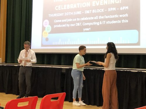 Inspirational Design and Technology Celebration Evening!