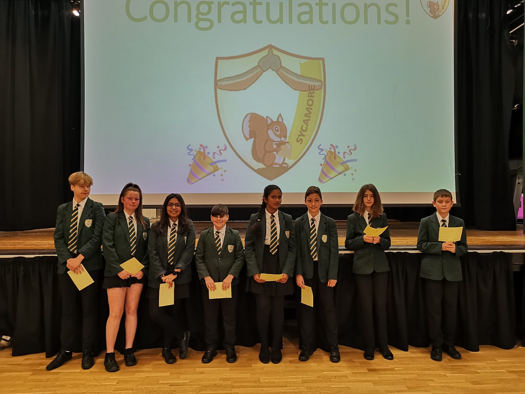 Sycamore House Celebrate Success!