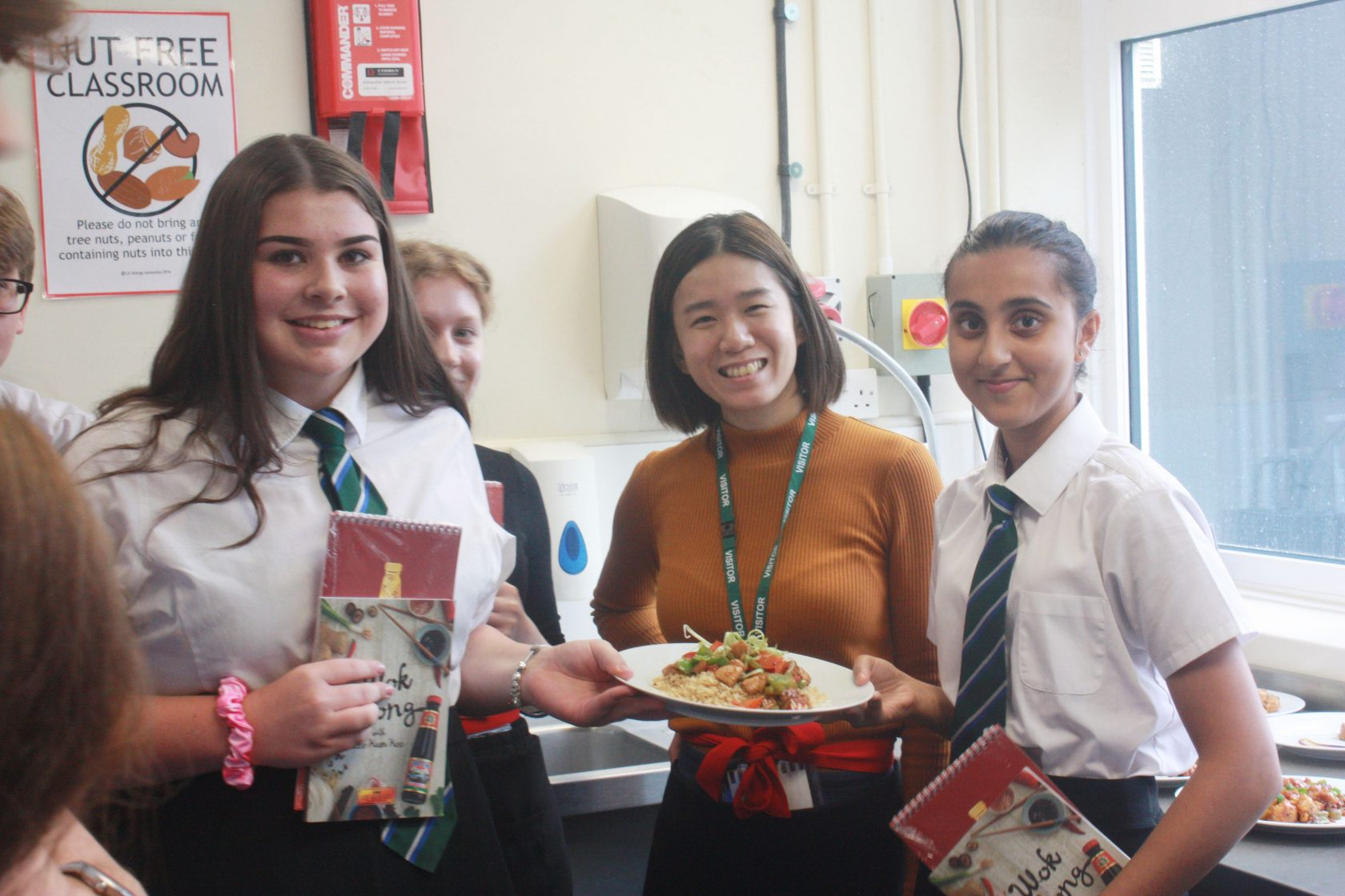 Healthy Chinese Cuisine – BMS students WOK  hard