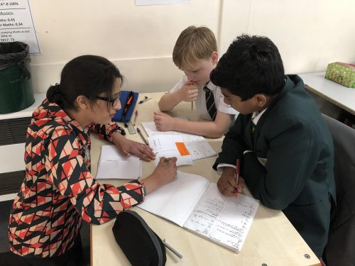 Powerful Live Marking in Action in Year 7 Maths lessons