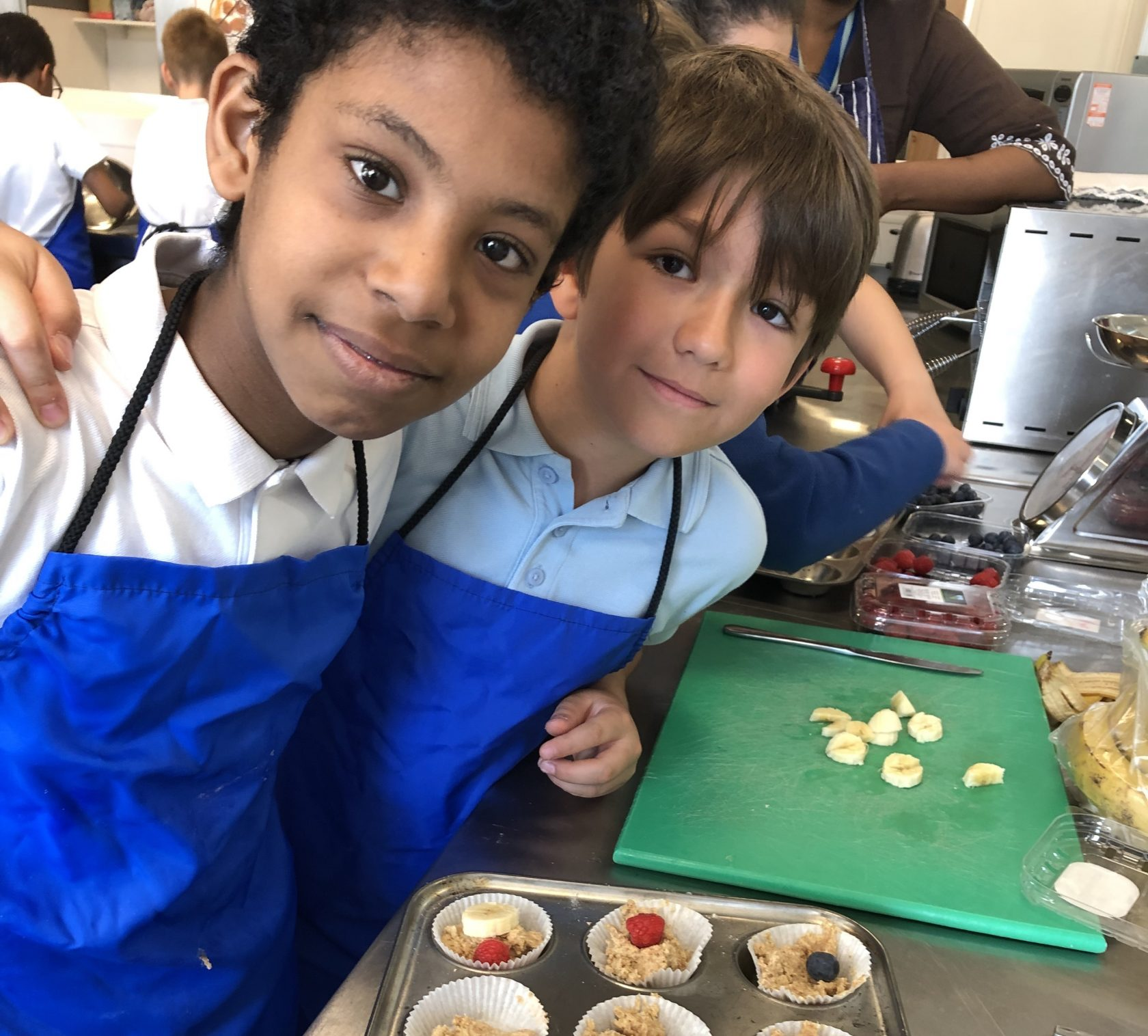 Year 5 Muffin Makers
