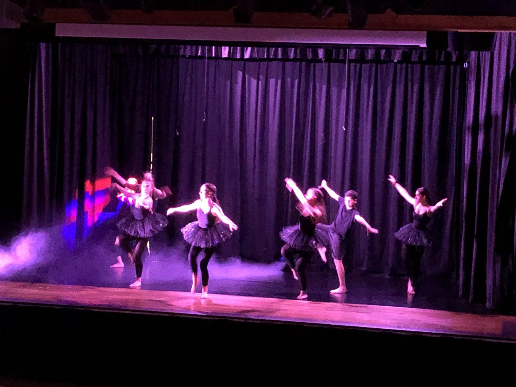 Amazing Dance Show across the Bushey St James Trust