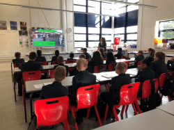 A positive learning atmosphere around the school