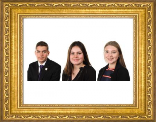 New Head Boy, Head Girl and Head Prefect