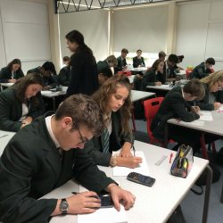 Fantastic learning atmosphere in maths