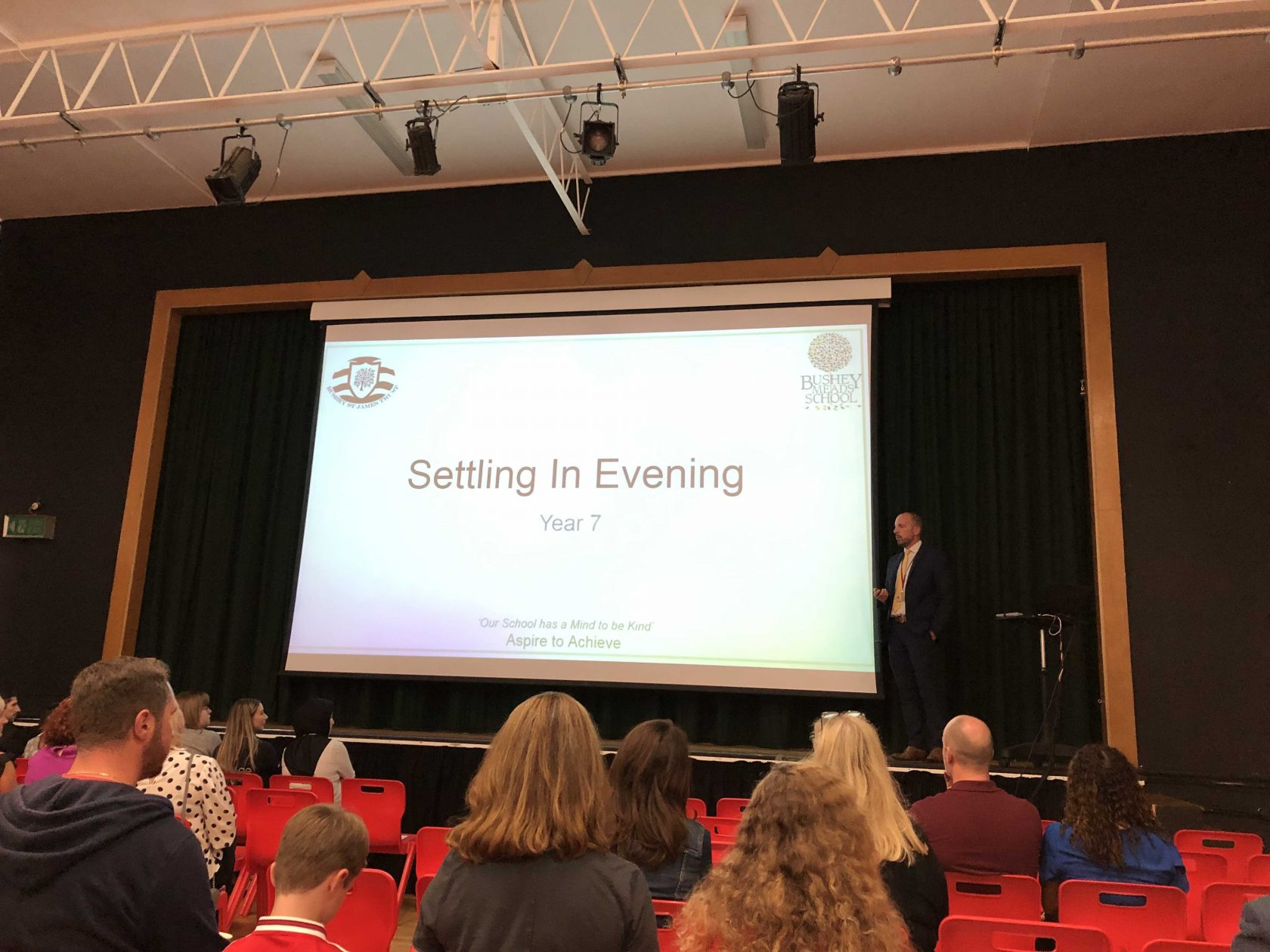 Year 7 Settling In Evening 2019