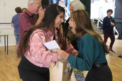 Congratulations to our A level students on another great year of stunning results!